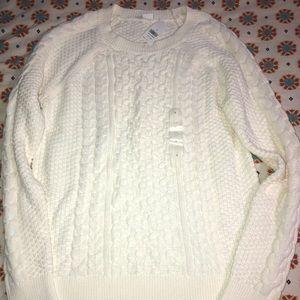White gap sweater NEW